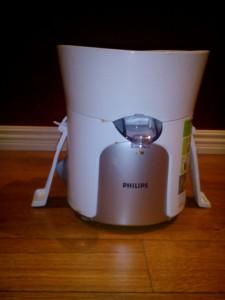 Min råsaftcentrifug från Philips