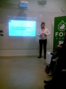 Cathrin Frisemo föreläser om Sociala medier