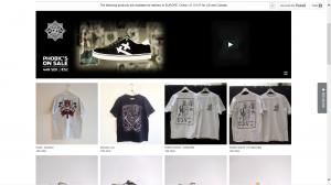 Servant en webbutik gjord i Tictail