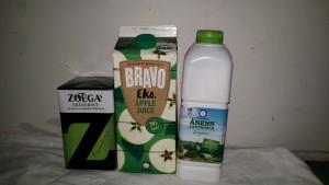 Zoegas kaffe Skånemejerier juice mjölk