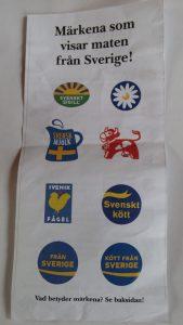 Svenska matmärken